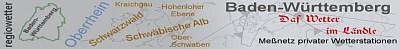 Regiowetter Baden-Würtemberg