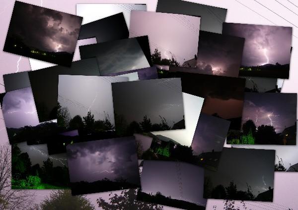 Fotoalbum Blitze und Gewitter