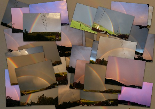 Fotoalbum Regenbogen